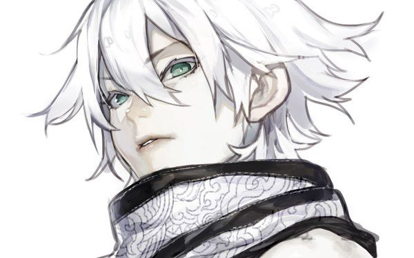 Anime Picture 1281x800 With Original Hujimogeo Single Short Hair Looking At Vie Character Art Character Design Male Concept Art Characters