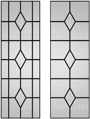 Strange Queen Anne Leaded Glass Window Grill Design Iron Door Design Grill Door Design