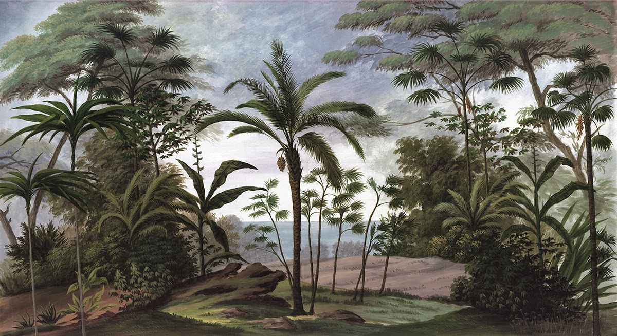 Ananbô: Bali, voyage exotique - Papier peint panoramique Ananbô