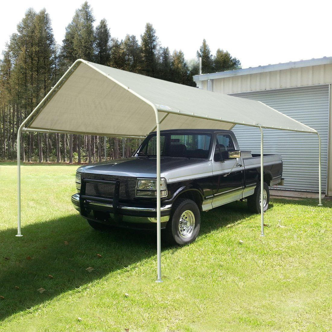 Quictent 20'X10' Heavy Duty Carport Car Canopy