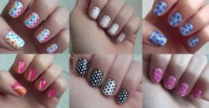 how to do six simple dot nail arts stepstep diy