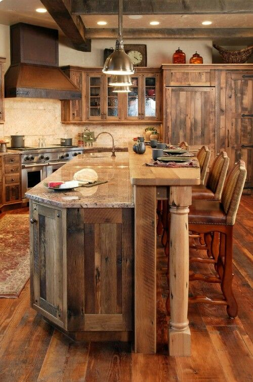 Cocina rústica cocinas Pinterest Cocinas rústicas, Rústico y
