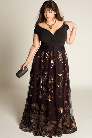 25b55ce858b 20 Plus-Size Evening Gowns for Your Next Black-Tie Event ...