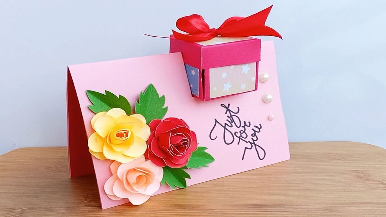 How To Make Special Birthday Card For Best Friend Diy Gift Idea Youtube Special Birthday Cards Diy Gifts For Friends Birthday Cards For Friends