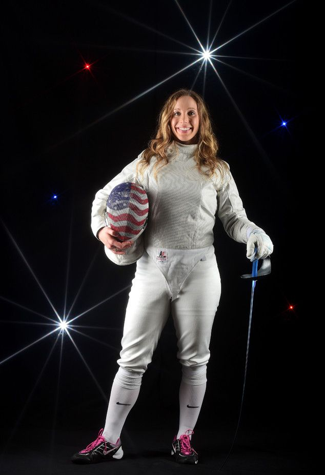 Mariel Zagunis from 2016 U.S. Olympic Portraits  Fencer