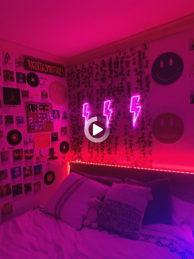 Pin On Led Lights Room Ideas