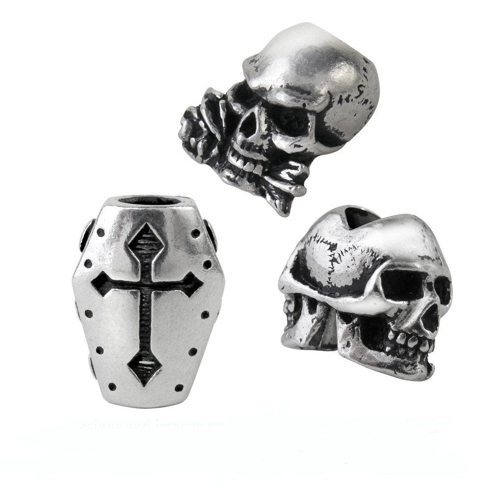 Alchemy Gothic Alchemy Beard or Hair Skulls