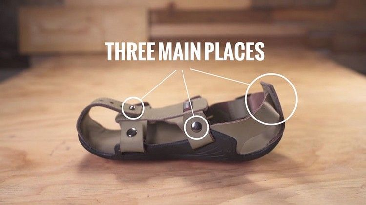 Shoes that grow 5 sizes! three main places