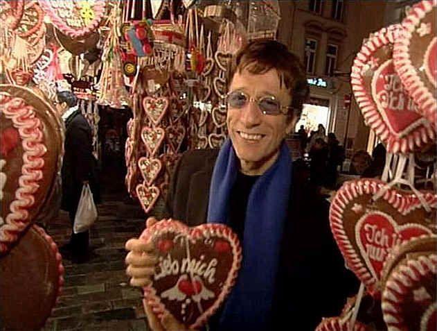 Robin in Deutschland, hab ich im Tv gesehen!