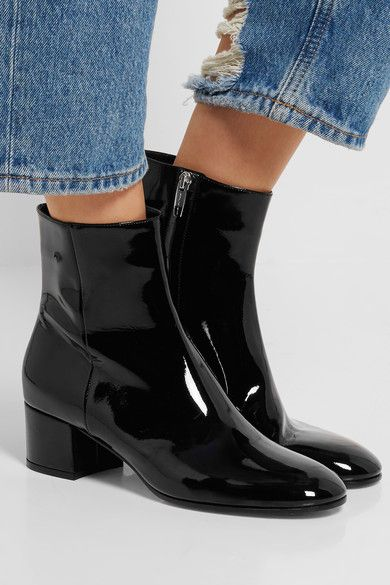 Gianvito Rossi Patent leather ankle boots shqKKx