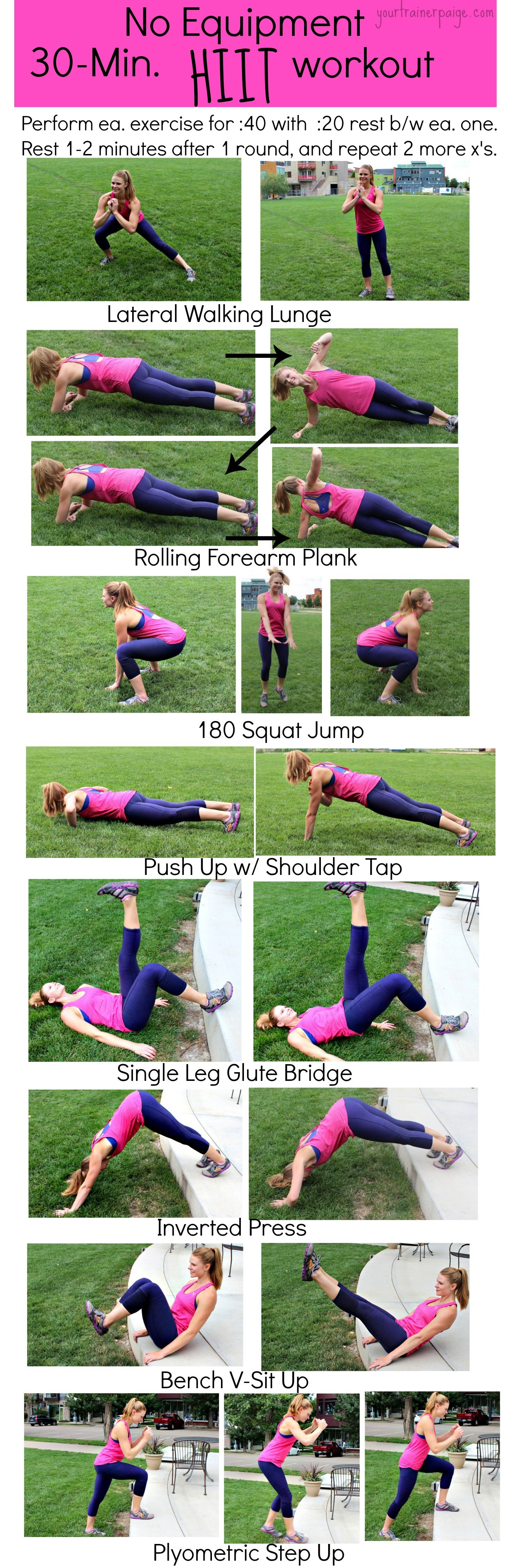 Body Weight HIIT Workout Trainers Workout and Weight loss secrets