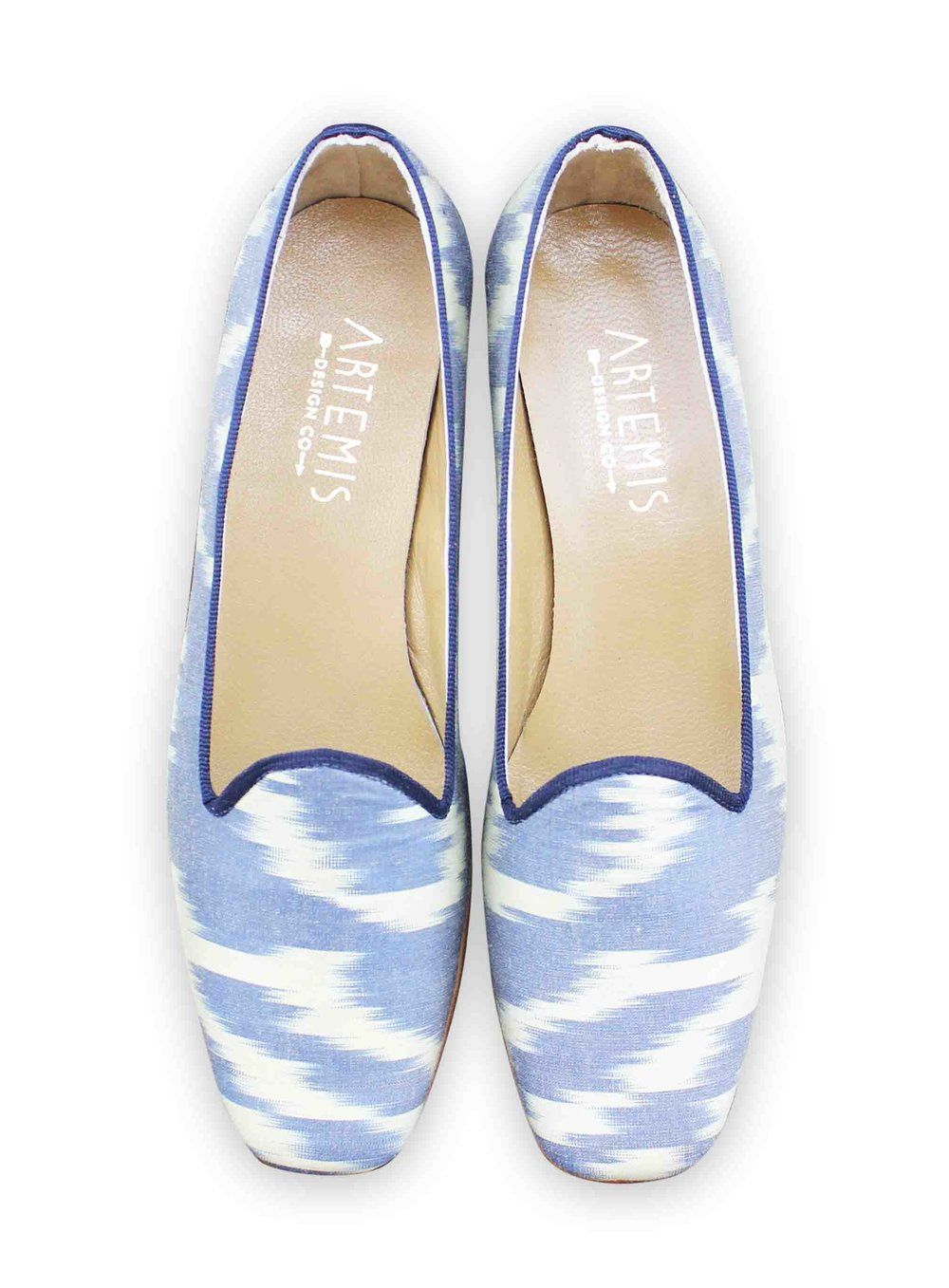 artisans handmade These raw by silk are loafers ultra luxurious ikat OqzCORZ
