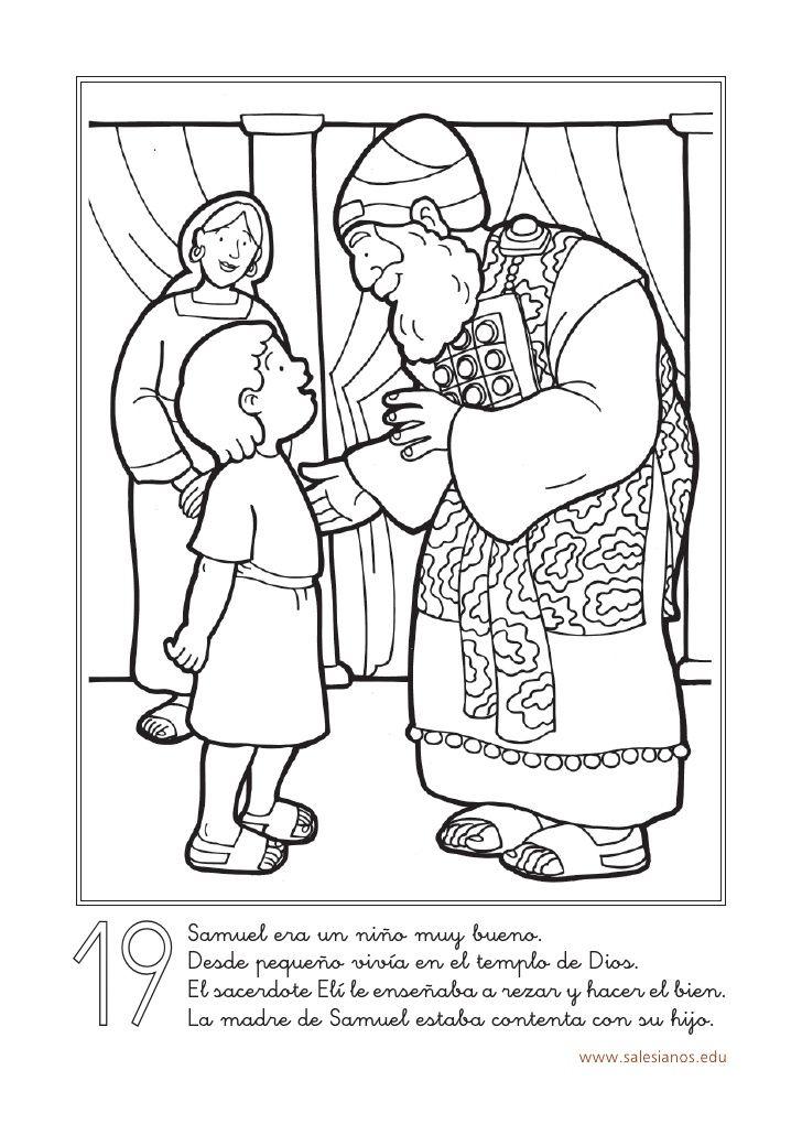 19 Samuel era un niño muy bueno. Desde pequeño vivía en el templo de ...