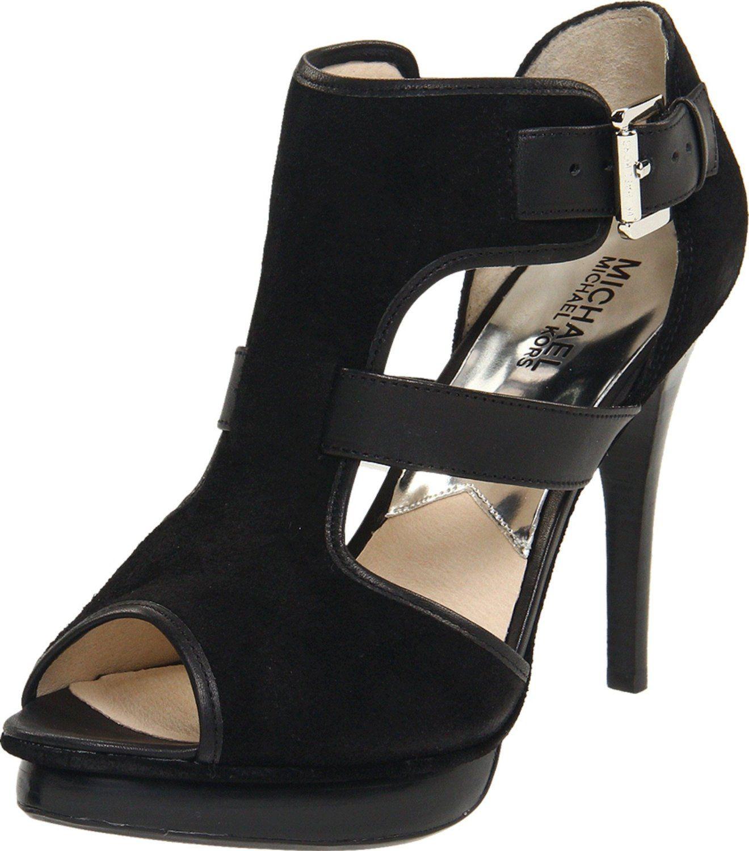 d7ea55afaea4 My new shoes (surprisingly comfortable) - MICHAEL Michael Kors Women s  Tracey Open-Toe Pump