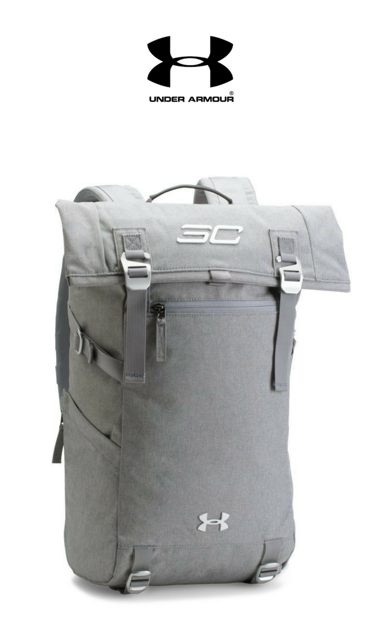Under Armour - SC30 Signature Rolltop Backpack   Heather Grey   Click for  Price and More b1d822cfac
