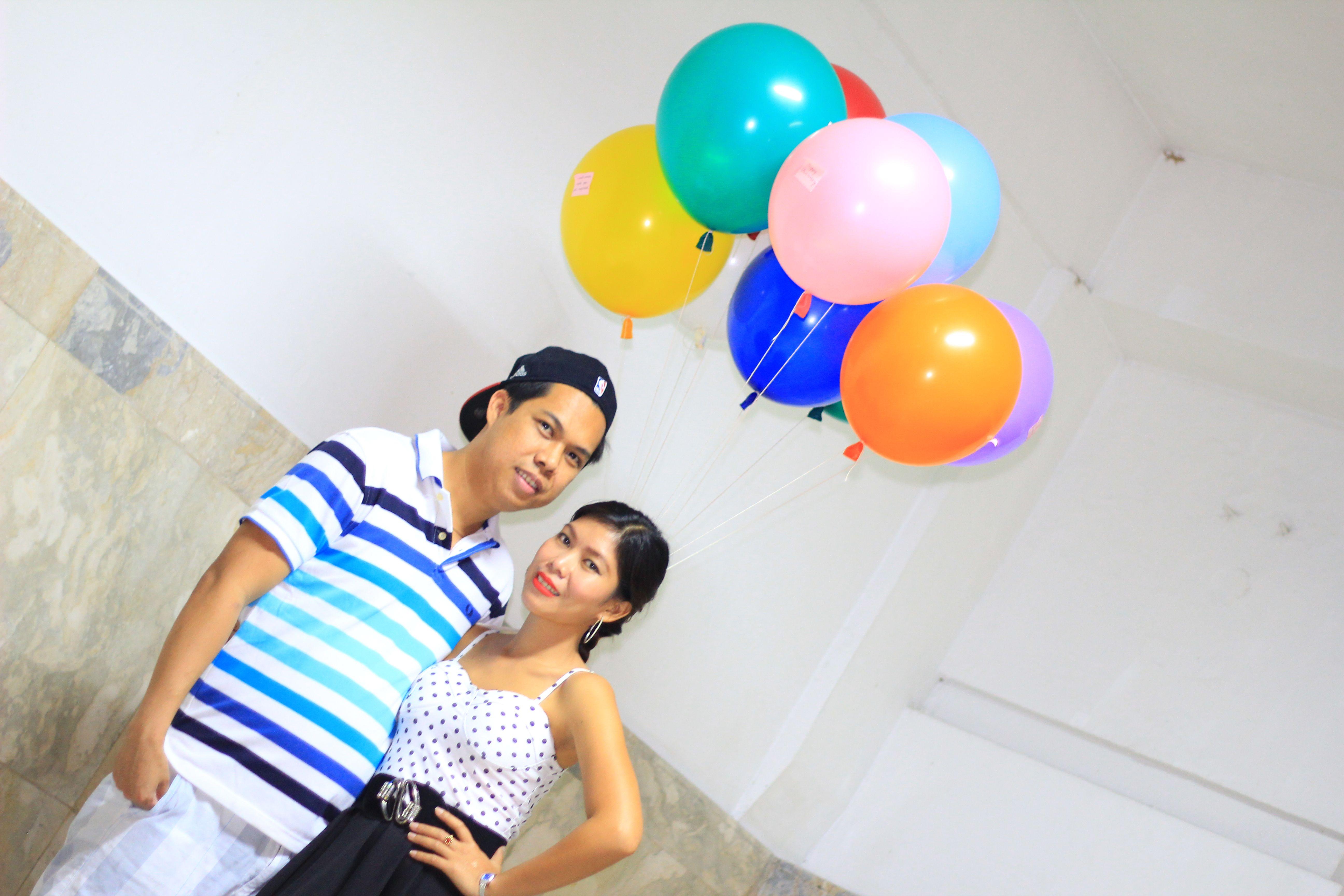Balloon themed
