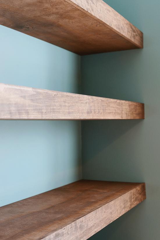DIY Floating Shelves for Easy Storage Floating shelves