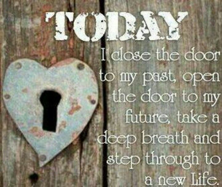 Today is the first day of the rest of my life! | Positivity | Door