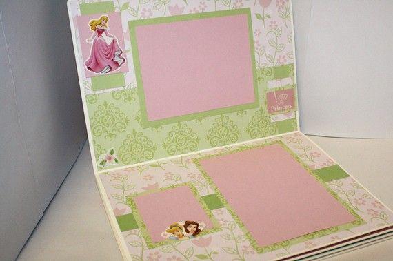 Disney Princess Half Marathon Scrapbook - RunLoveScrapbooks.Etsy.com
