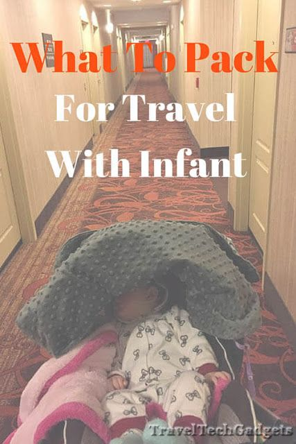 What To Pack For Vacation With An Infant |Kids Travel Gadgets