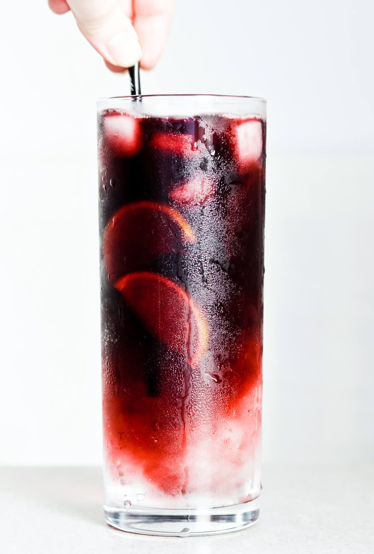 Red Wine Spritzer 3 Ways Mitzy At Home Red Wine Spritzer Wine Spritzer Red Wine Drinks