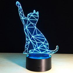 Share Get It Free 3d Beckon Cat Shape Touch Colorful Night Lightfor Fashion Lovers Only 80 000 Items New Arrivals Daily Affo Cat Lamp Lamp Night Light