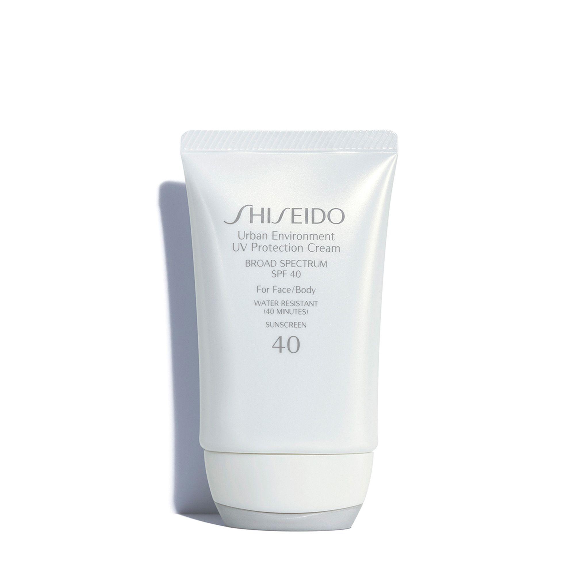 Urban Environment Uv Protection Cream Spf 40 Sunscreen Shiseido Daily Sunscreen Sunscreen Uv Protection