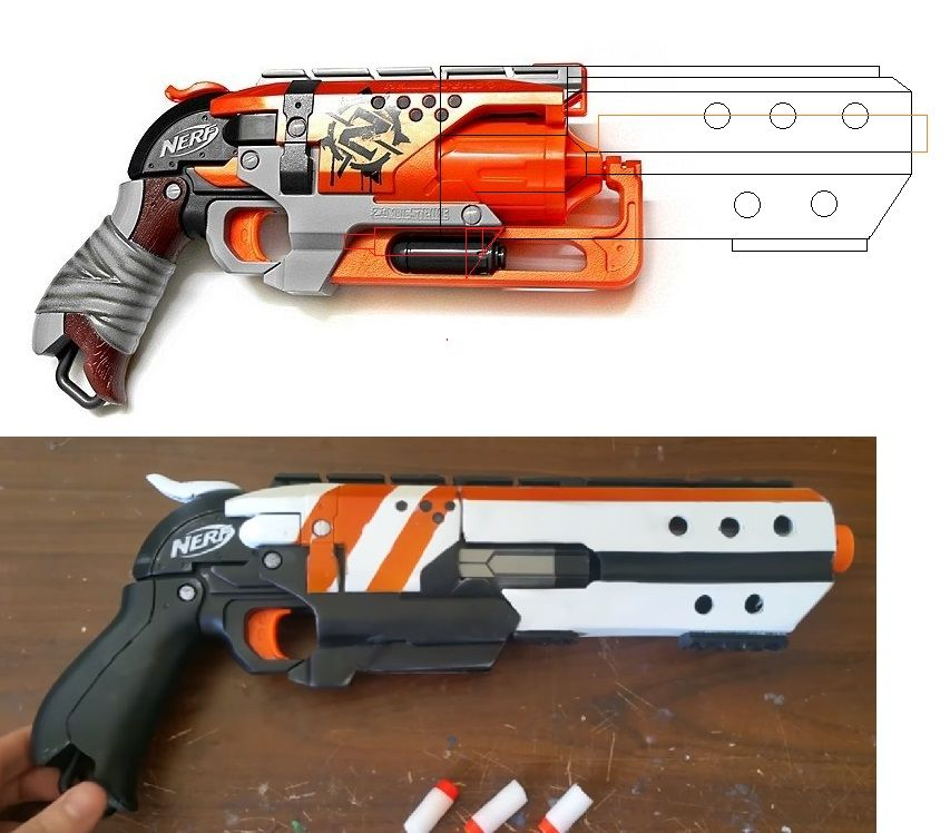 Break Action Hammershot Mod P 01 Nerf