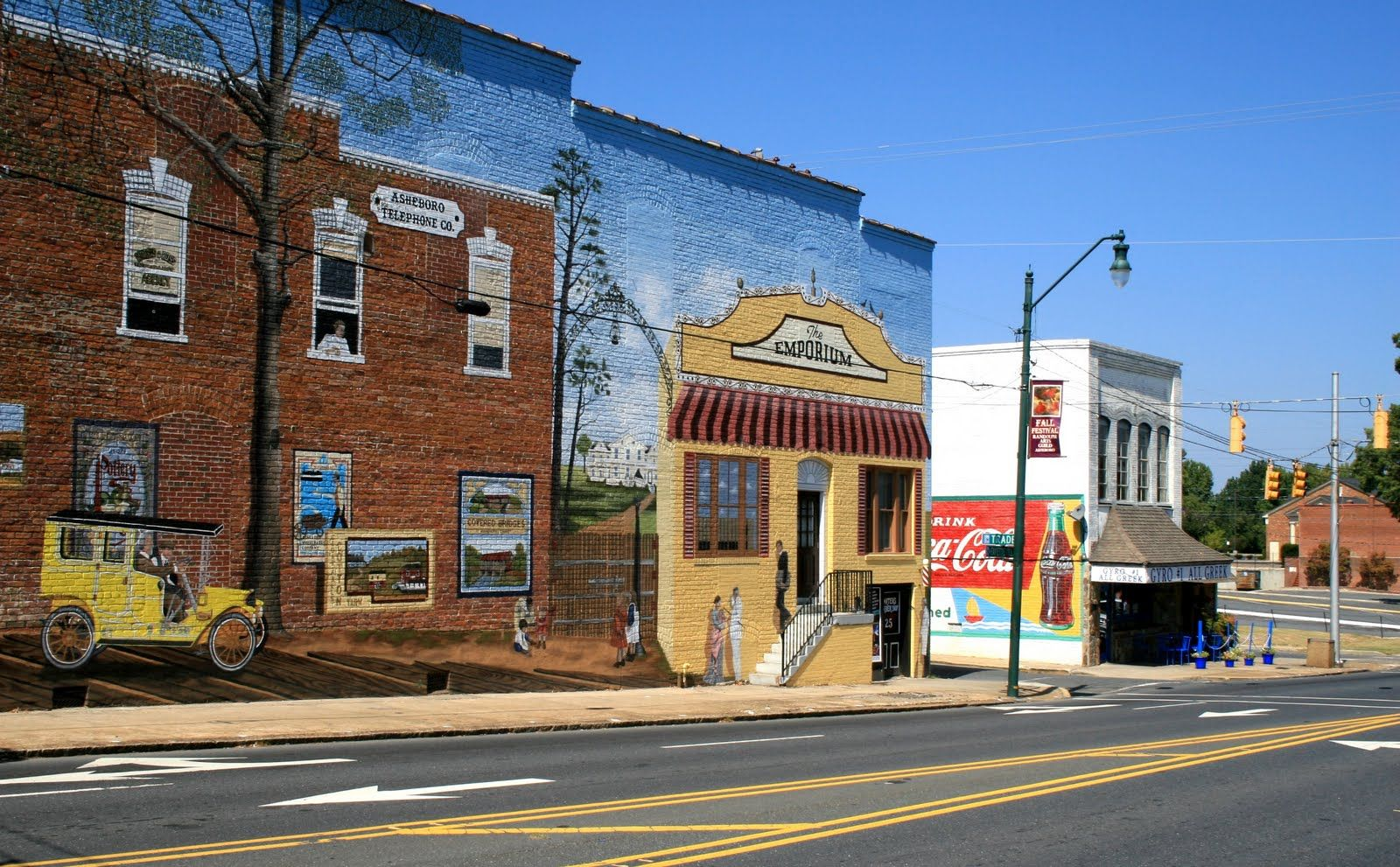 Asheboro Nc Fayetteville St Mural Favorite Places Spaces In