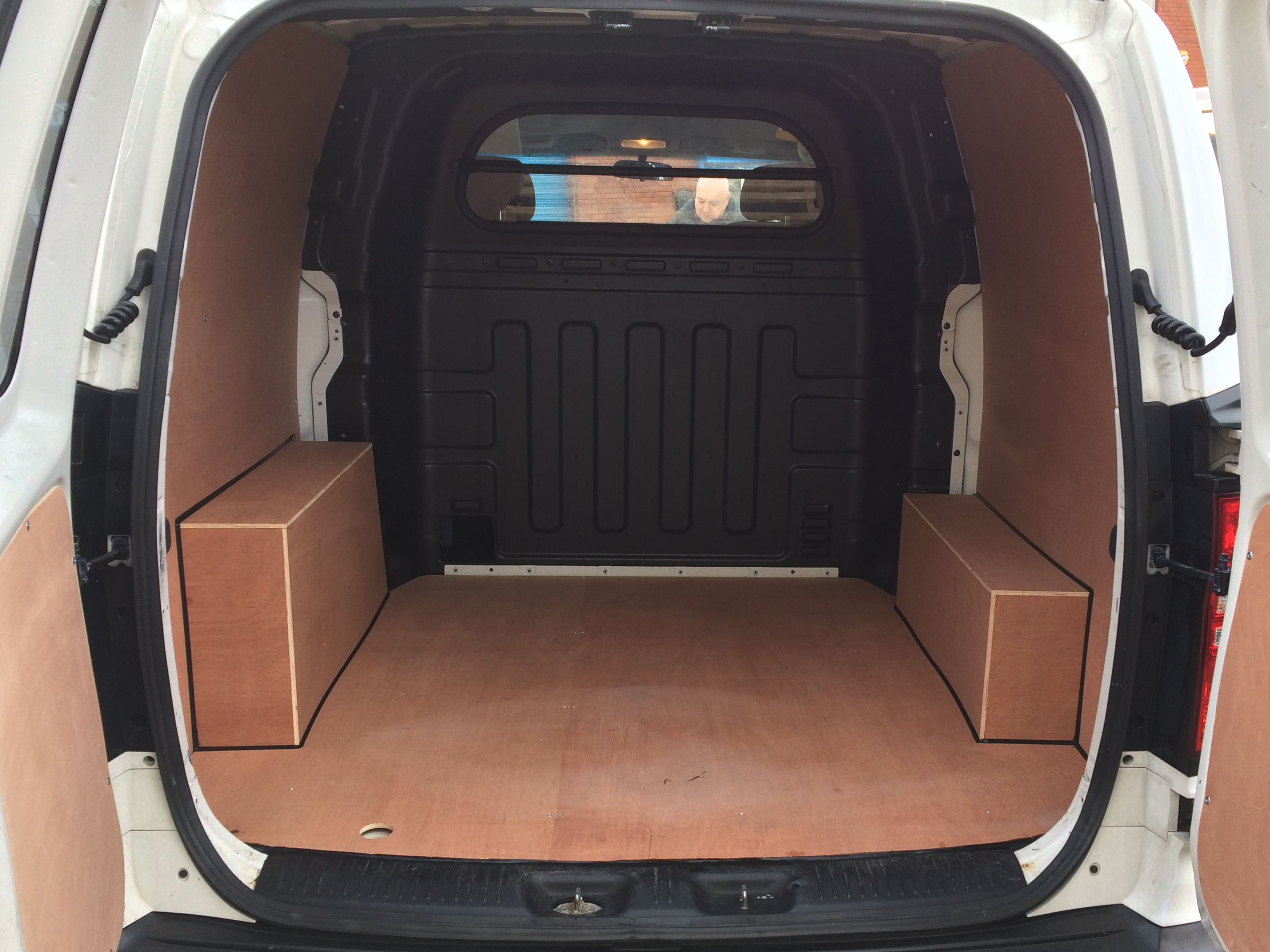 Plylining The New Ford Transit Courier Ford Transit Car Accessories Hyundai