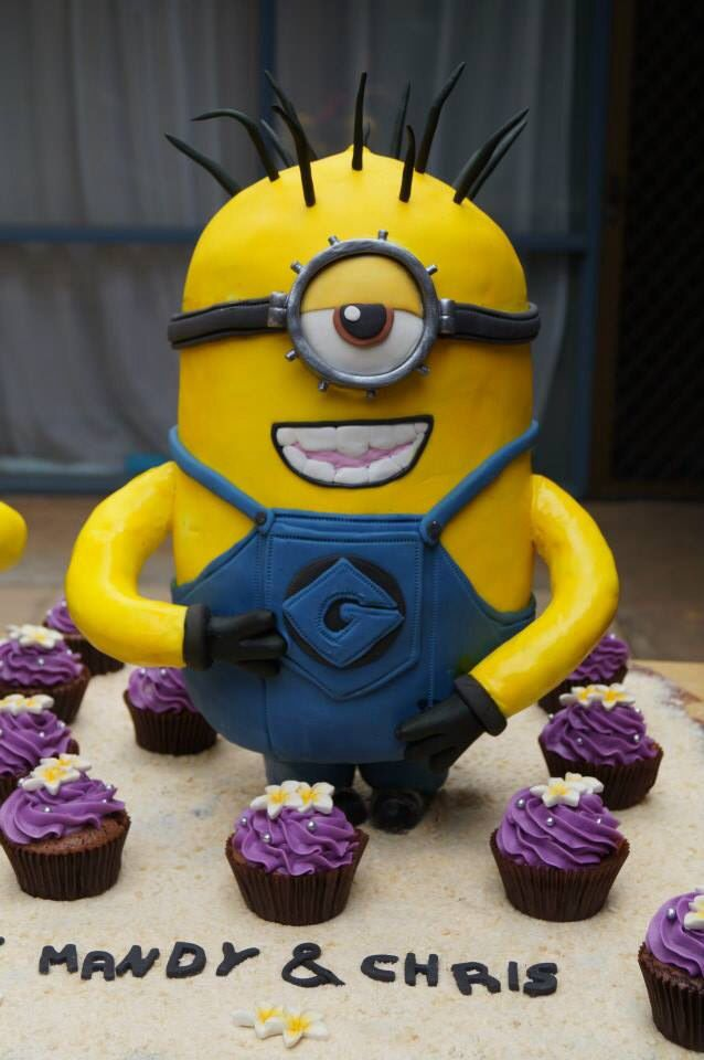 Pin By Mandy Suckling On Minions 50th Birthday Cake