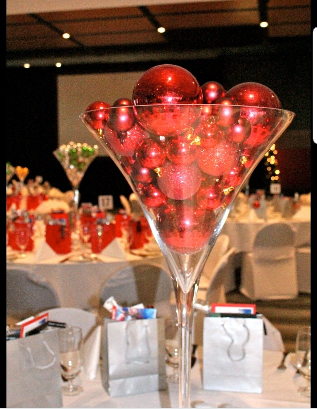Pin By Lisa Kleinhelter On Christmas Party Christmas Party Centerpieces Holiday Party Decorations Holiday Party Centerpieces