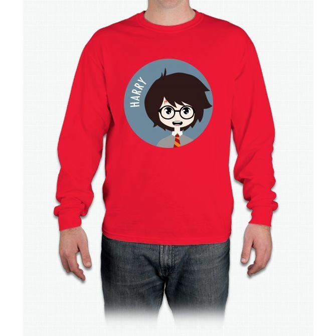 Harry Harry Potter Long Sleeve T-Shirt