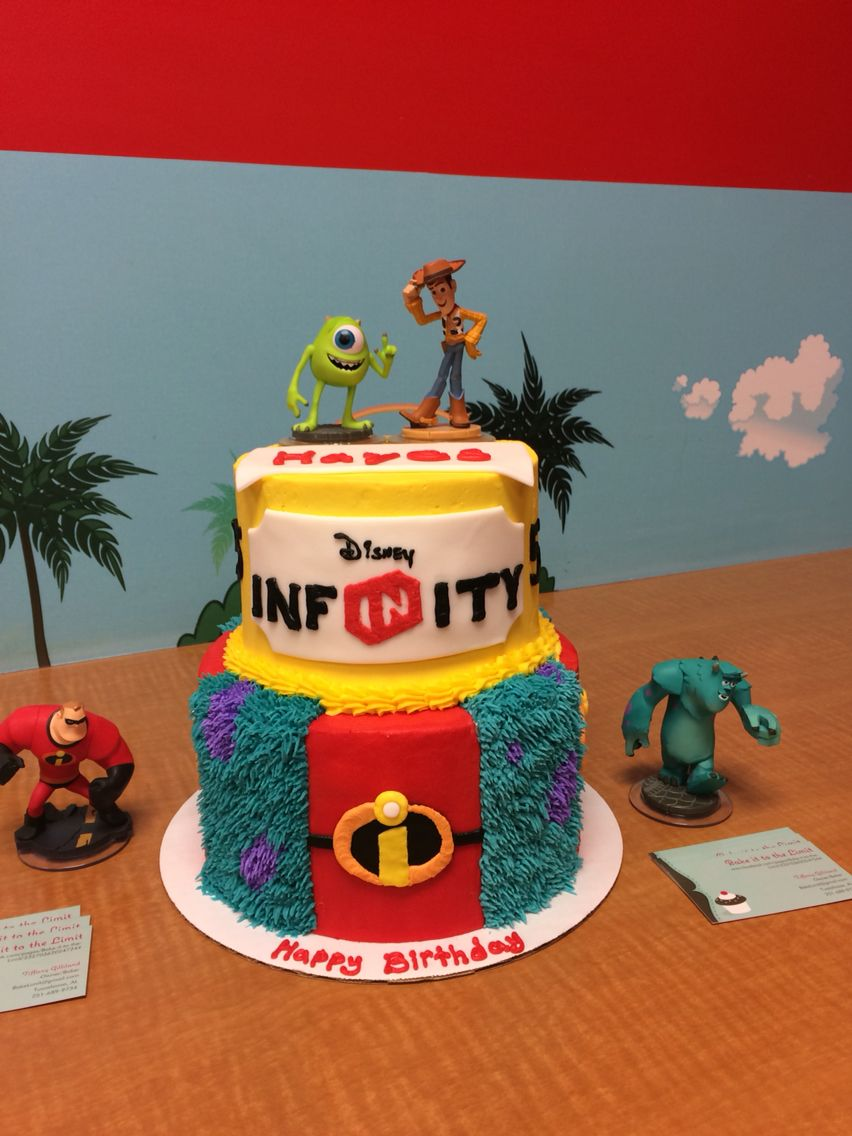 Disney Infinity Cake By Bake It To The Limit In Tuscaloosa Al