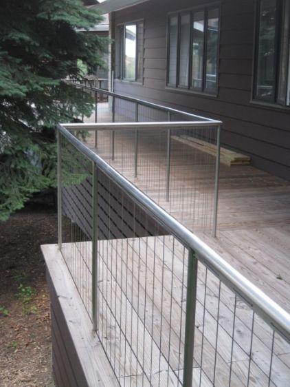 Cool Railing Idea Contemporary Exterior By Wheeler Kearns