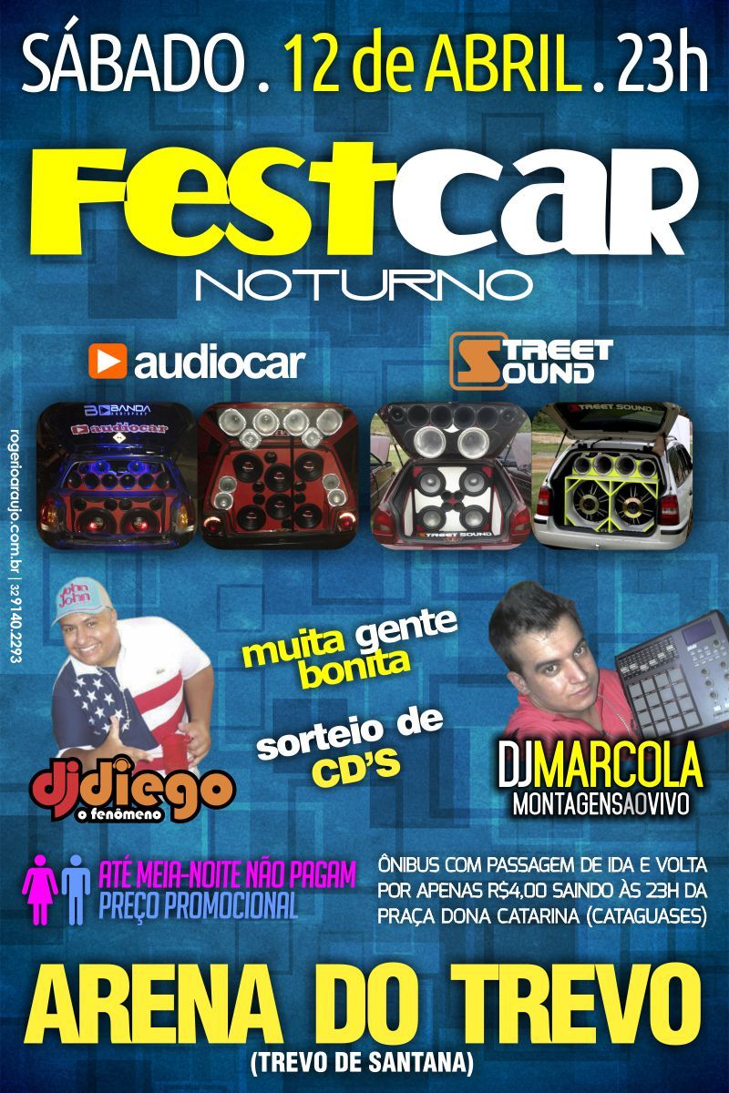 Fest Car Noturno - Arena do Trevo