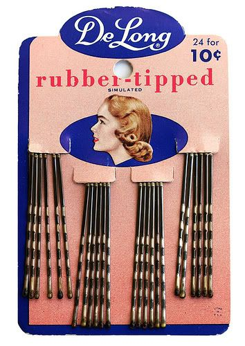 NEW BOBBY PINS for Dolls rubber tipped