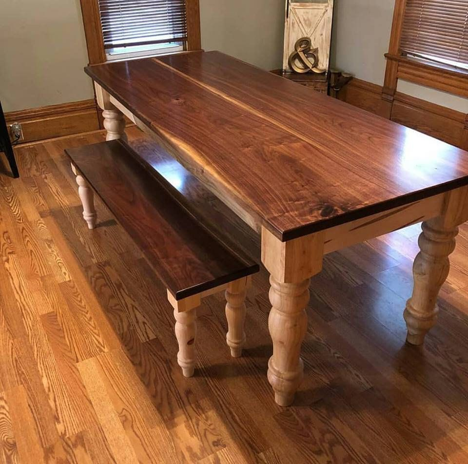 Timber Table Legs Unfinished Farmhouse Dining Table Legs Wood Legs Turned Legs
