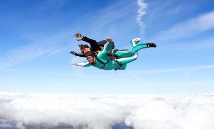 Tandem Skydiving Skydiving Skydiving Center Skydive Ireland