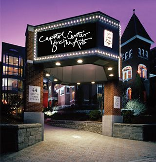 About The Cca Capitol Center For The Arts New Hampshire Laconia Granite State