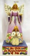 Heartwood Creek by Jim Shore Girl First Communion Figurine