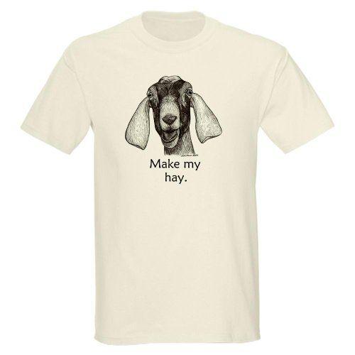 833c02519b32 $29.5 Funny Nubian Goat Shirt- Gray Funny Light T-Shirt by CafePress ...