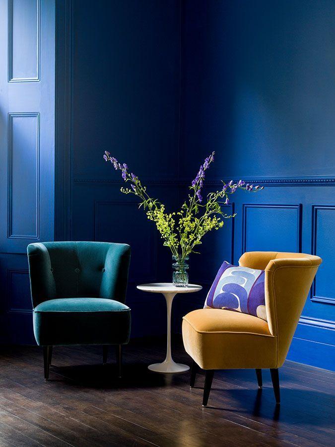 6 stilvolle Sessel die Ihre Wohnung harmonisieren  Wohnzimmer ideen  Samt sessel Sessel und