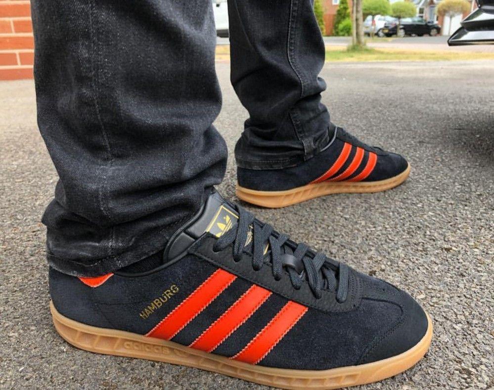 Hamburg on feet on the street Adidas Og 5479db139