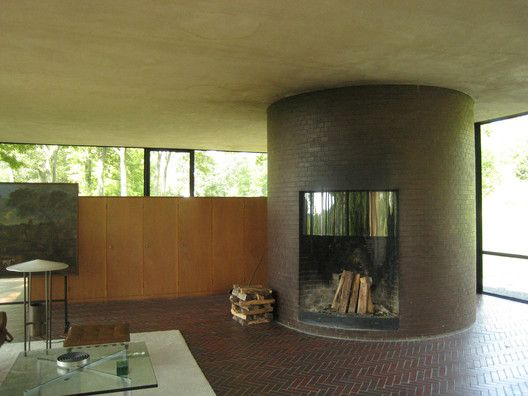 Gallery Of Ad Classics The Glass House Philip Johnson 4 Philip Johnson Glass House Glass House Philip Johnson