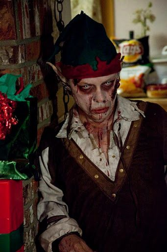 Zombie Holidays: Zombie Elf   Xmas Zombies — Zseriously ...