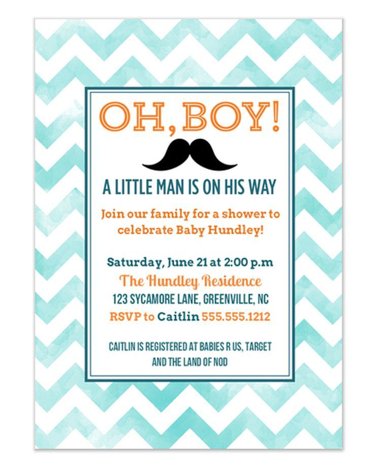 9 Free Online Baby Shower Invitations Your Guests Will Love: Oh, Boy ...