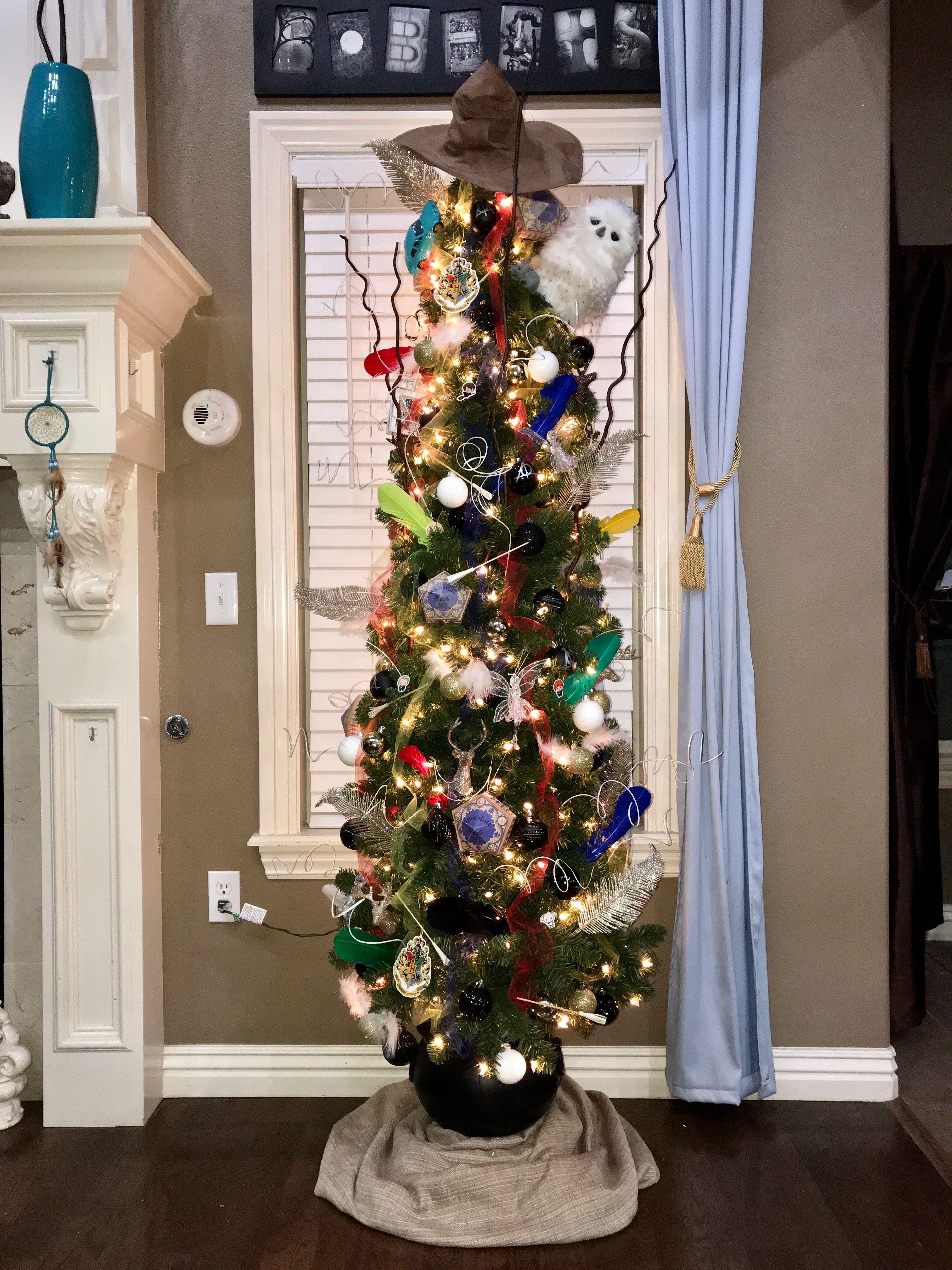 Harry Potter Tree Harry Potter Christmas Tree Harry Potter Christmas Harry Potter Ornaments