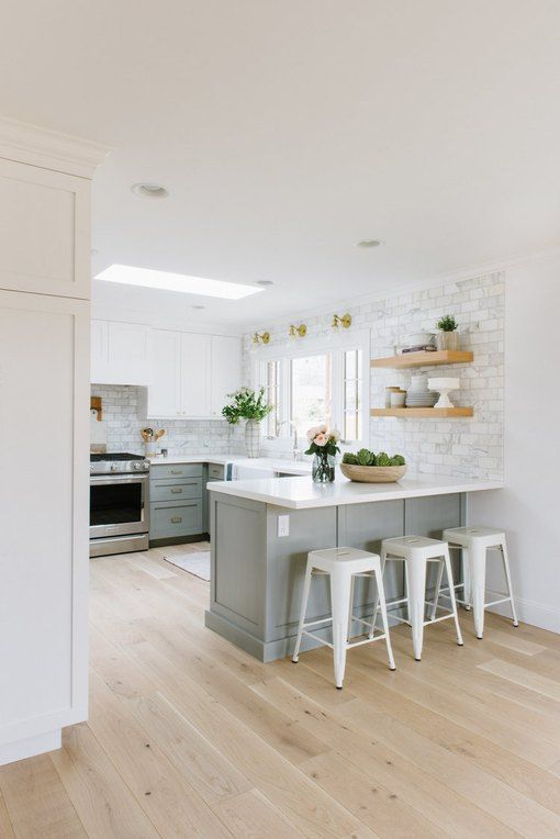 5 Small Kitchen Layout Ideas That Dare to Defy Your Lack of Square Footage | Hunker