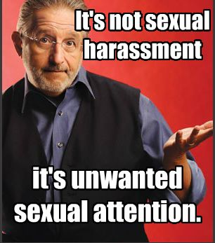 Getting unwanted attention from someone? Say enough! If the person doesn't listen and won't stop - go above their head (if at work) or get the police involved! NO ONE should put up with it!